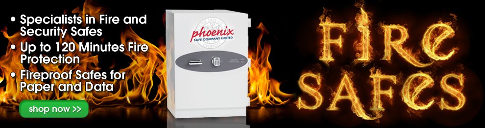 Phoenix Fire Safes | Fireproof Safes | All About Safes