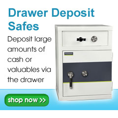 Drawer Deposit Safes | Cash Deposit Safes