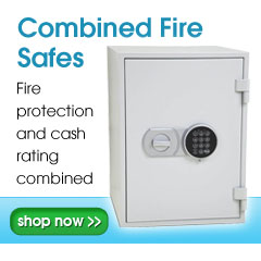 Fire safes combined fire protection