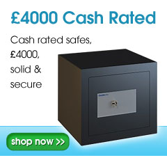 £4000 Cash rated safes