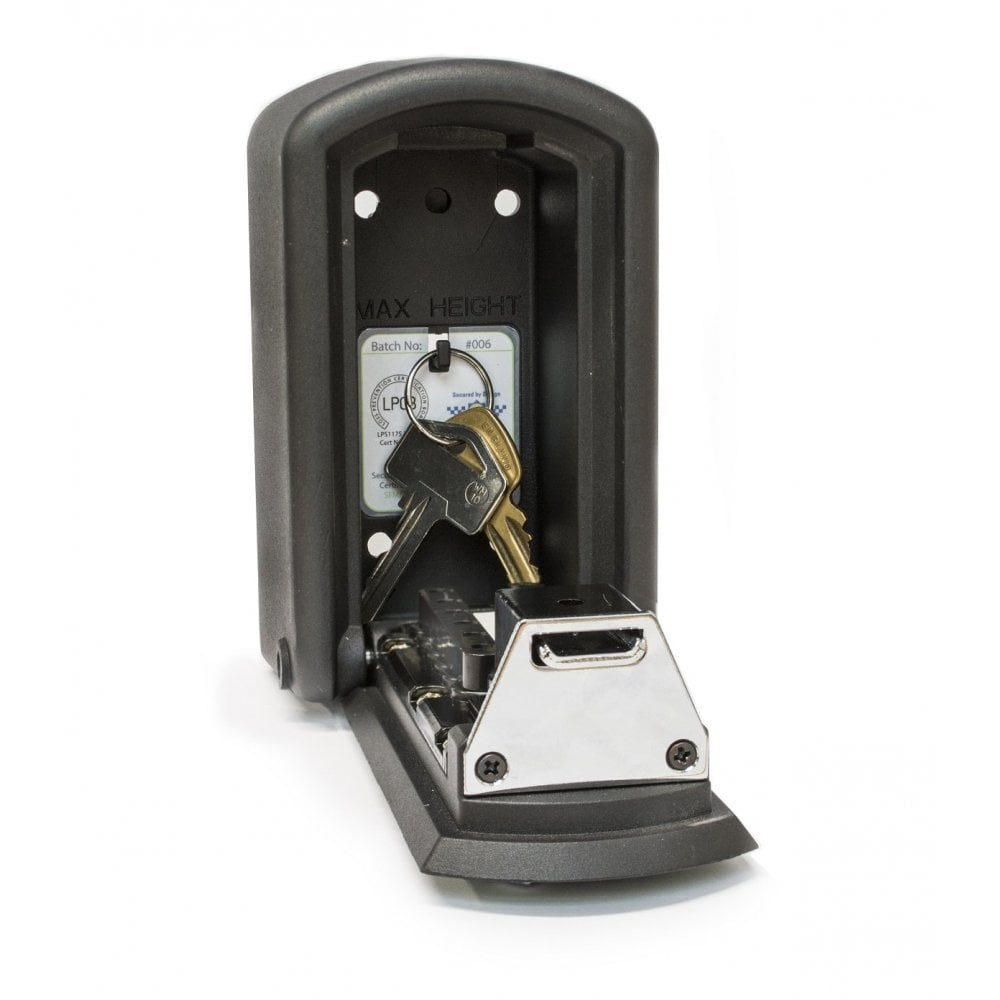Burton police preferred specification keyguard xl outdoor key safe.