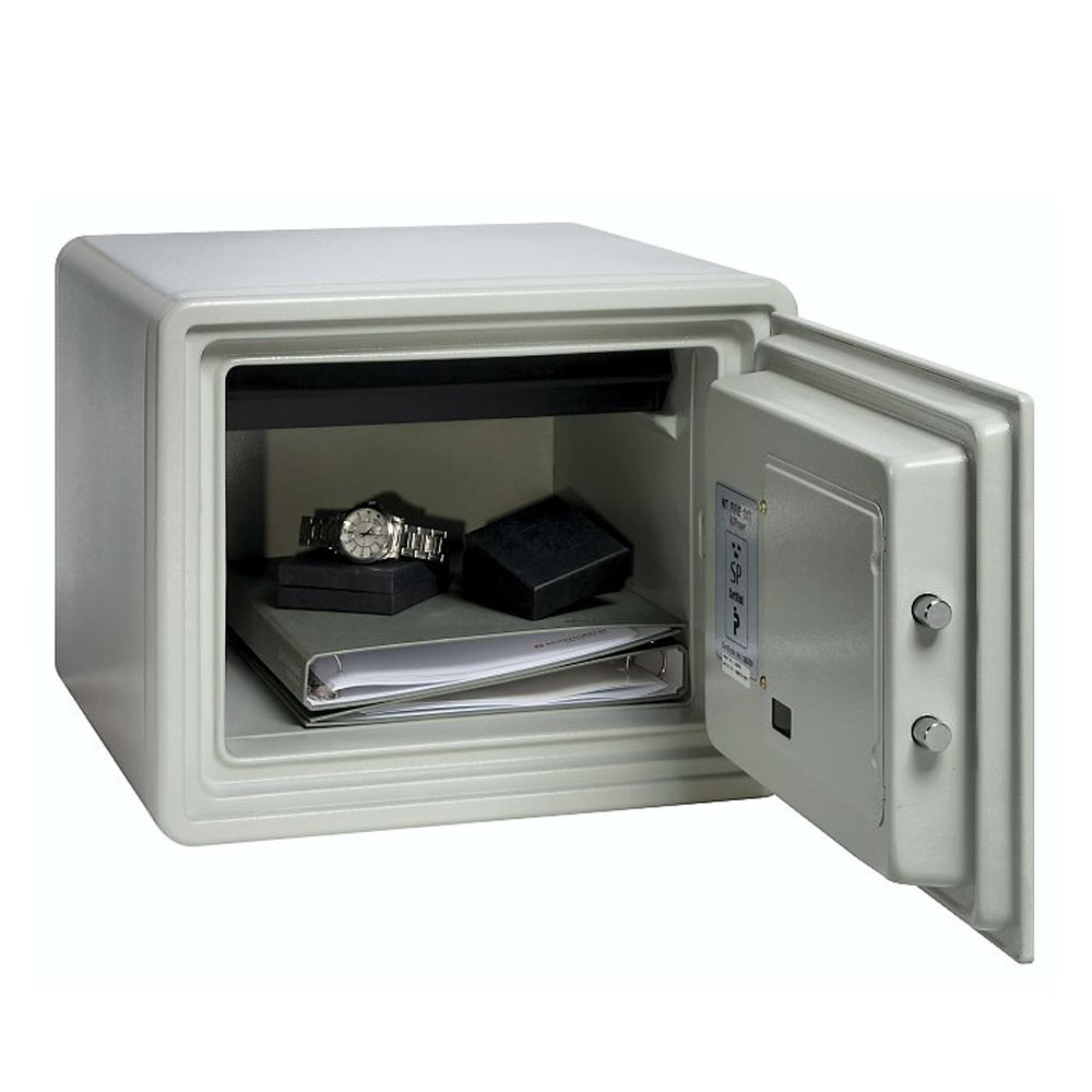 fire proof Fireproof (comparative more fireproof, superlative most fireproof)  the fireproof  safe will protect documents inside for up to four hours in a standard house fire.
