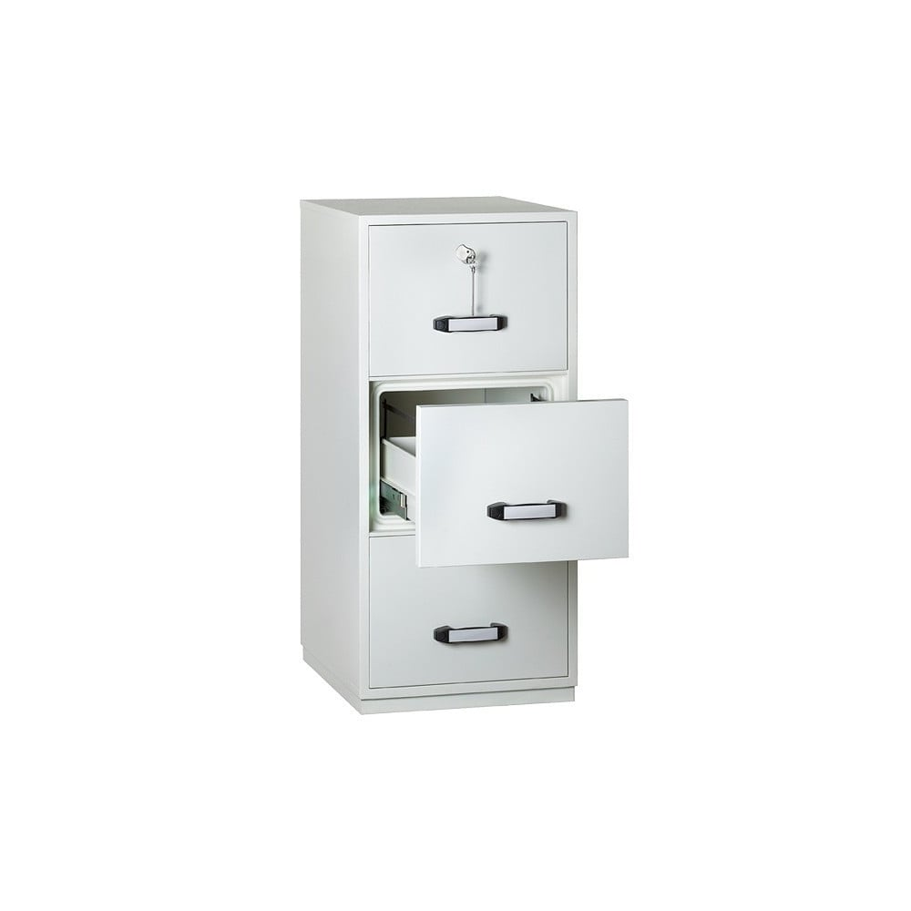 Two Hour Fire Resistant Filing Cabinet   3 Drawer K