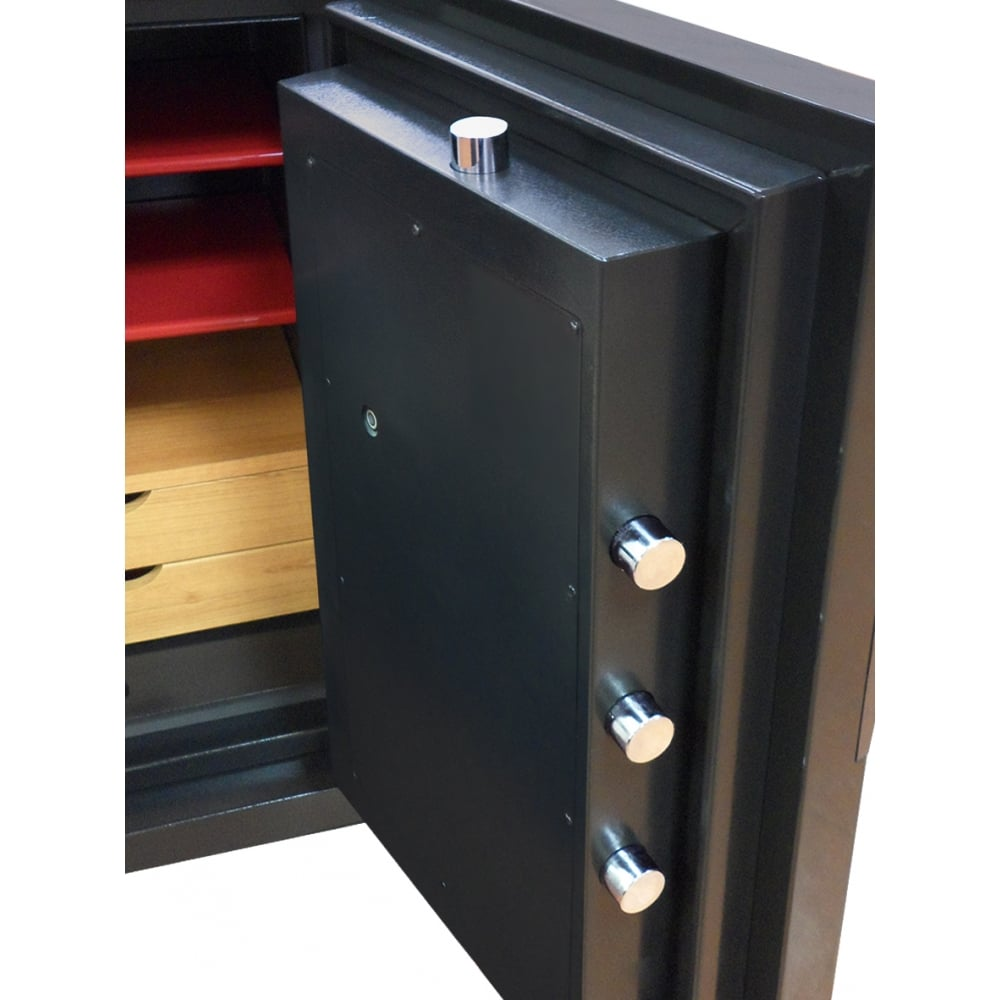 Phoenix next luxury safe ls7002 black home and office safe for Luxury home safes