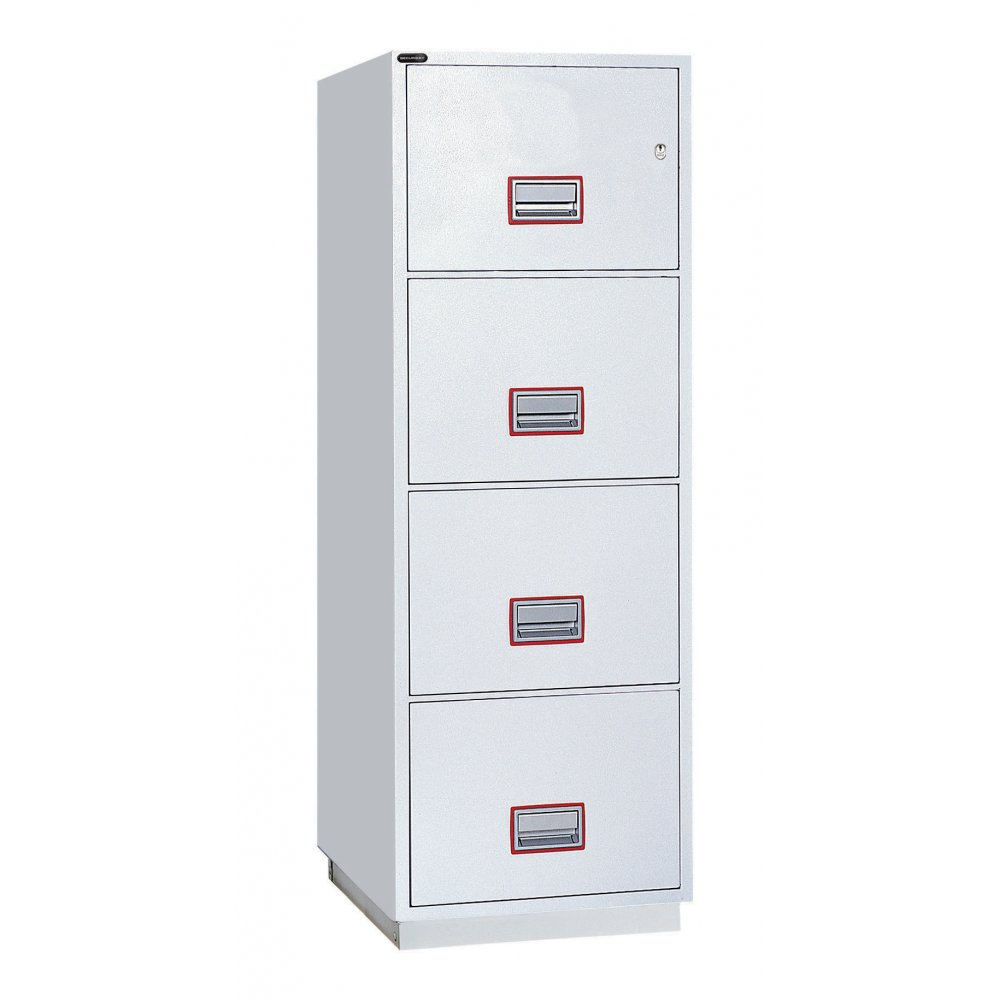 Fire Resistant 4 Drawer Filing Cabinet