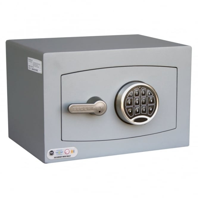 Securikey Mini Vault Silver Safe 0E 5th Gen