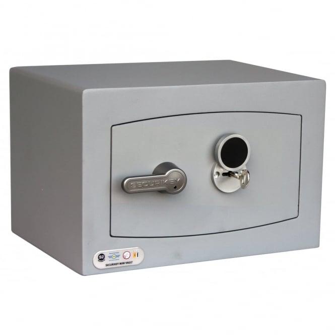 Securikey Mini Vault Silver Safe 0K 5th Gen