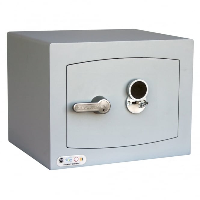 Securikey Mini Vault Silver Safe 1K 5th Gen