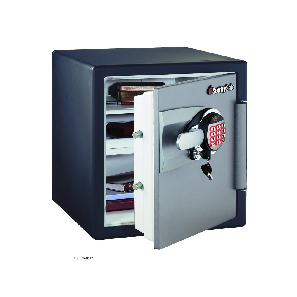 Sentry home fire safe oa3817 fireproof safe for How to buy a home safe